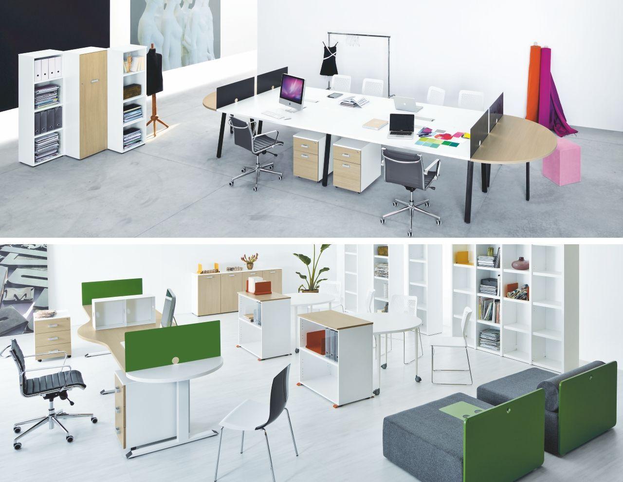 Ufficio Bianco E Grigio : Eidos spazio arredamenti per uffici uffici operativi www